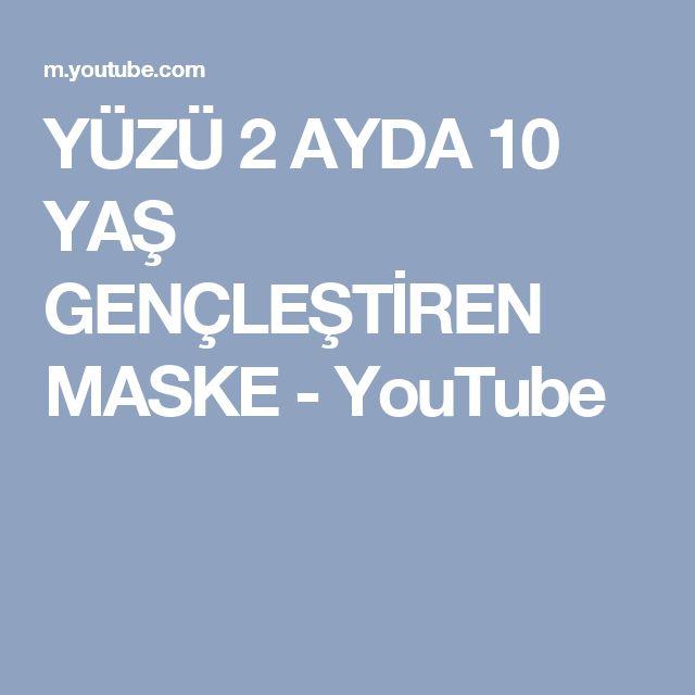 YÜZÜ 2 AYDA 10 YAŞ GENÇLEŞTİREN MASKE - YouTube
