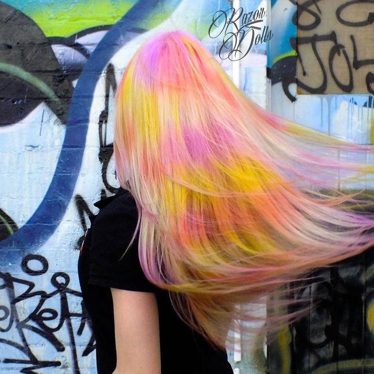 Unicorn Hair by Razor Dolls on Chapel Street