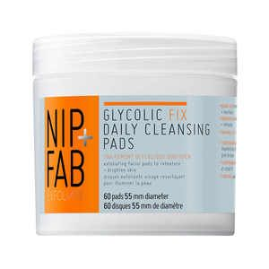 Nip+Fab Glycolic Fix Exfoliating Facial Pads= HOLY GRAIL PRODUCT. My skin has been amazing and I've only been using it for 3 nights after cleansing.