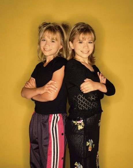 Mary Kate and Ashley ruled the 90's