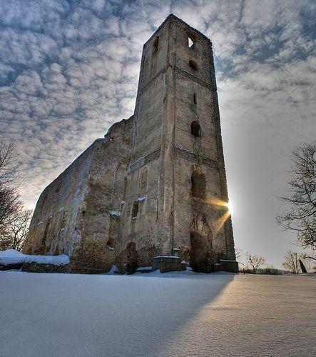 Katarínka in winter Slovakia Dechtice