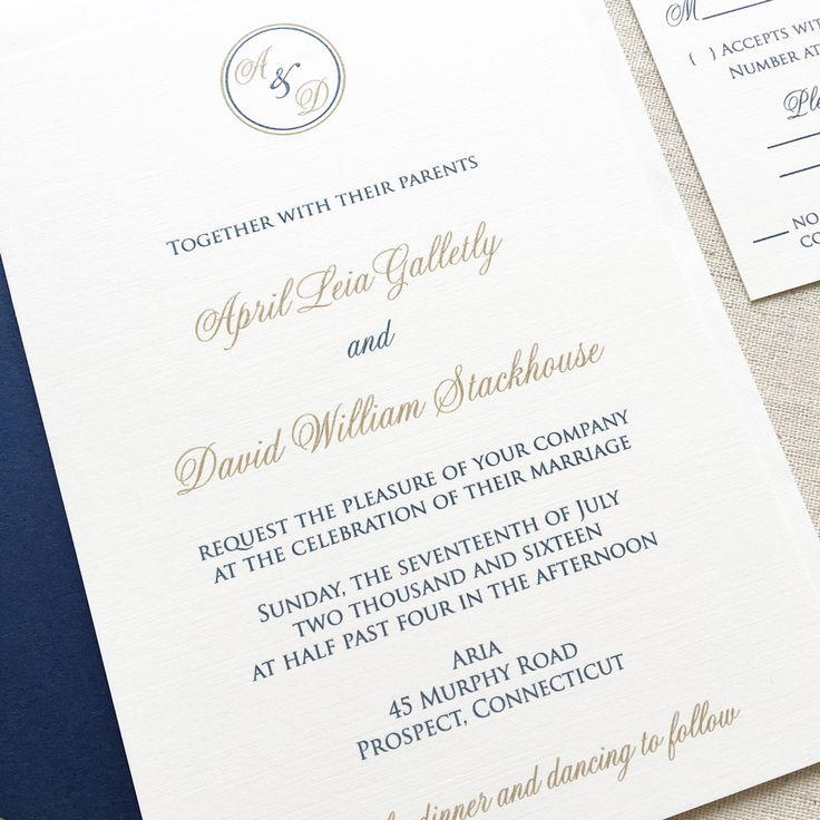 starfish wedding invitation kits%0A Circle Monogram Wedding Invitation