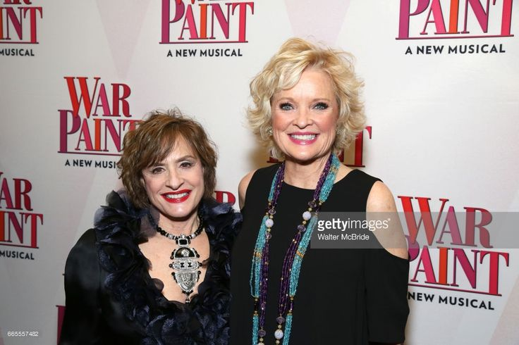 Patti LuPone and Christine Ebersole attends the Broadway opening night after party for 'War Paint' at Gotham Hall on April 6, 2017 in New York City.