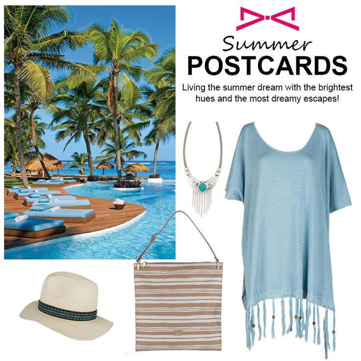 Create your summer postcards. All you need is a smile!  #achilleas_accessories