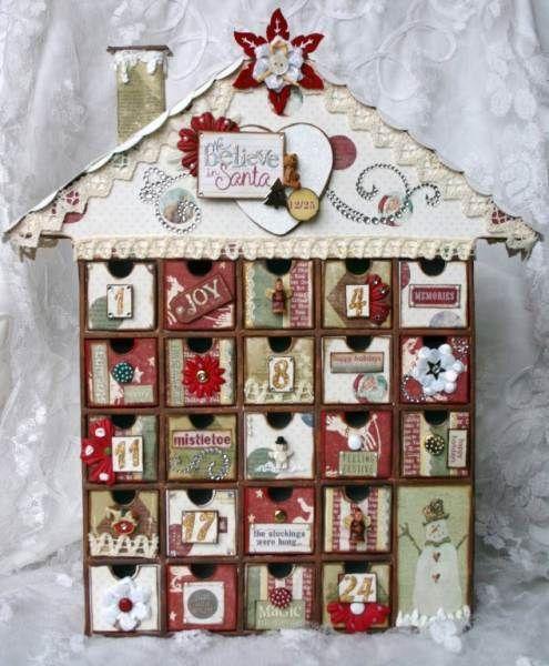 Advent Calendar Handmade Knitting : Ideas about fabric advent calendar on pinterest