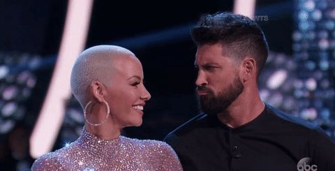 dancing with the stars abc dwts amber rose chin grab trending #GIF on #Giphy via #IFTTT http://gph.is/2crCGsI