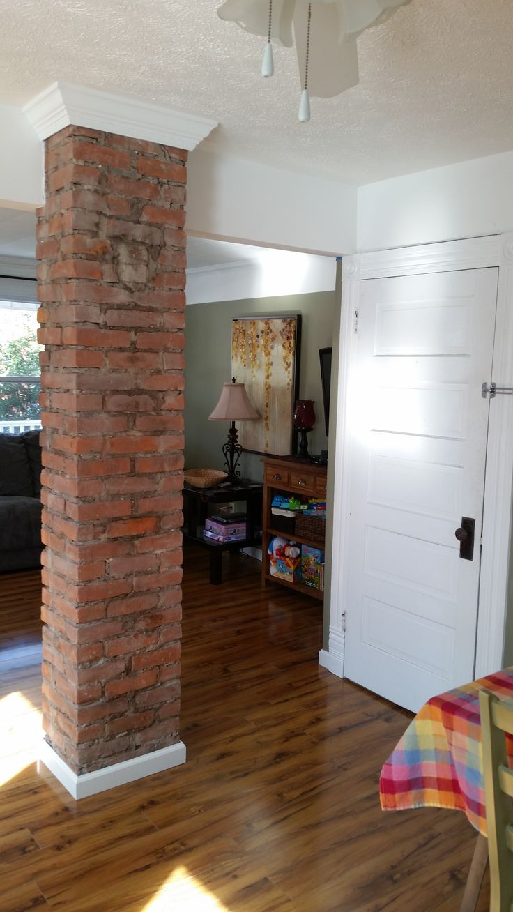 A client read our Exposed Chimneys blog and was inspired... A mom wanting only a kid-friendly Open Floor Plan turned into a restoration masterpiece! MORE...