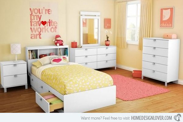 Gele Slaapkamer : Yellow Bedroom Designs