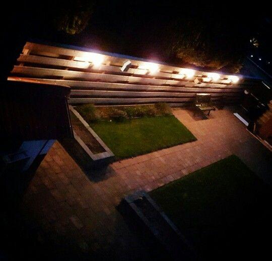 #garden #lights #night #home