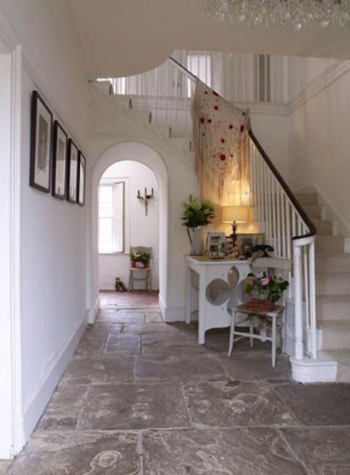 Georgian country house foyer