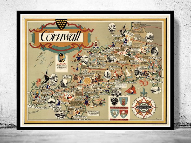 Best Map Of Cornwall Ideas On Pinterest Map Of Cornwall - Portugal england map