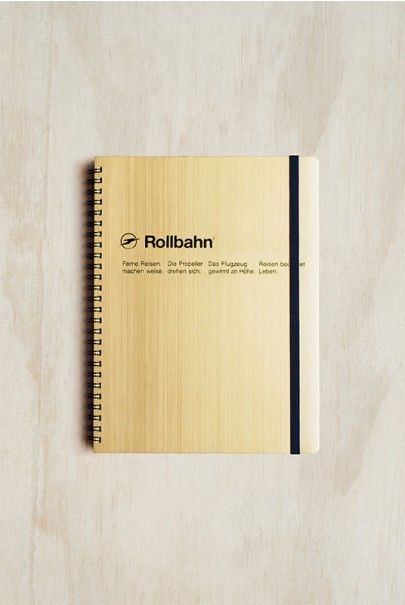 Delfonics - Rollbahn Notebook - Grid - Large (14x18cm) - Gold