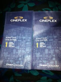 I'm giving away: 2 Cineplex general admission vouchers. Check it out - http://www.listia.com/r1gs8g4/7379958 #listia