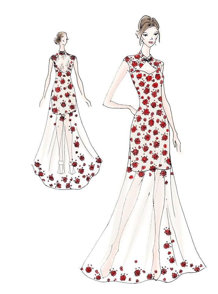 17 Best Images About Tulle Amp Chantilly Fabulous Wedding Dress Sketches On Pinterest