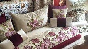 نقدم لك سيدتي مجموعة صالونات مغربية تقليدية بلمسات عصرية جديدة و أنيقة و بألوان متناسقة و جميلة نتمنى أن تنال اعجابك