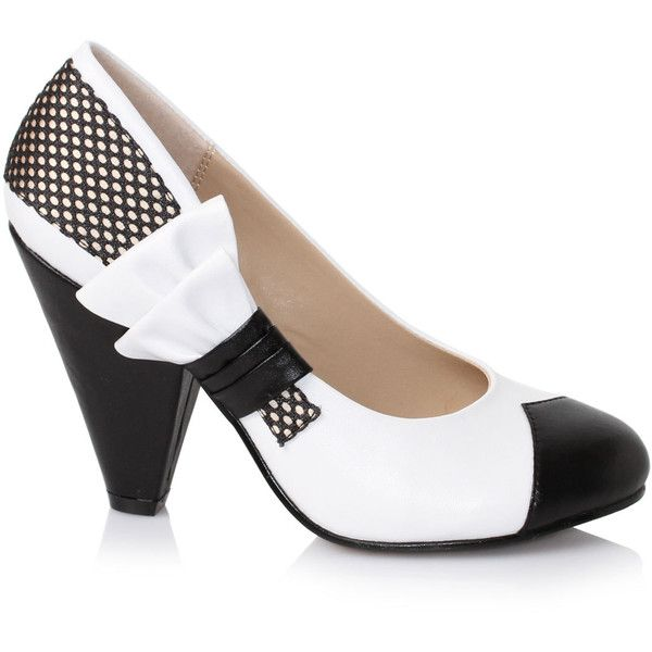 1000  ideas about Black And White High Heels on Pinterest | Shoes ...