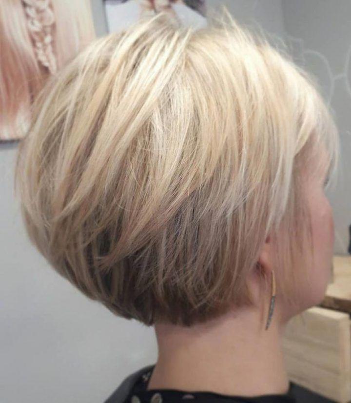 Diese Bob Frisuren Fur Feines Haar Sind Wirklich Wunderschon Bobhairstylesfo Haarschnitt Bob Bob Frisur Haarschnitt
