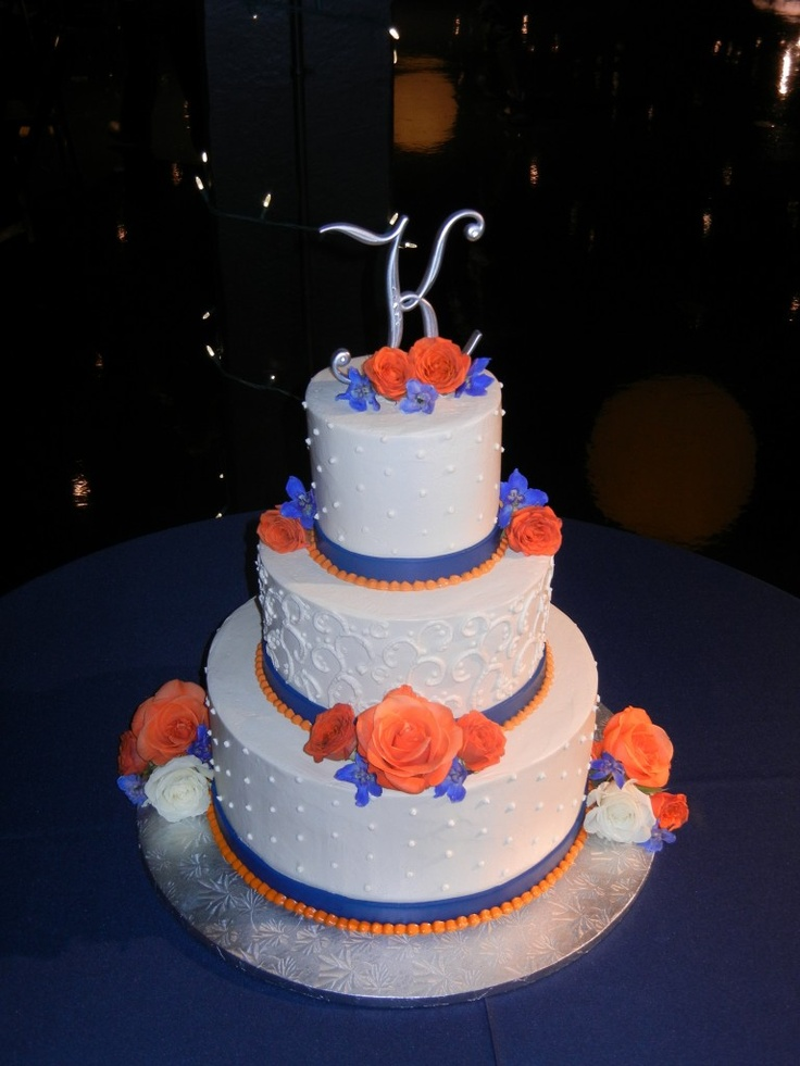 navy blue and orange wedding cakes 139 best images about wedding blue amp orange on 17756