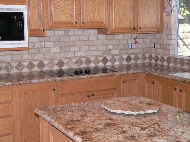 Find This Pin And More On Kitchen Back Splash Natural Stone By  Marshallstile1. Kitchen Tile Ideas ...