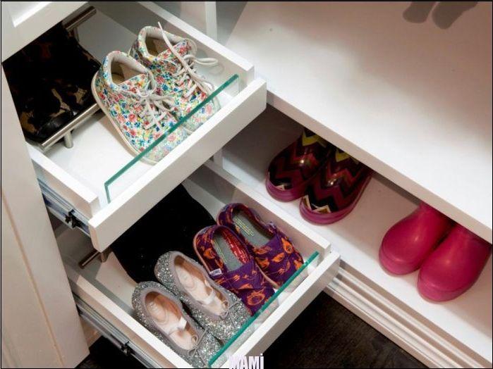 Ideen zur Hinterlegung und Organisation von Schuhen: Bilder