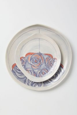 Pacifica Dinnerware @ Anthropologie. - For meals from the sea :D