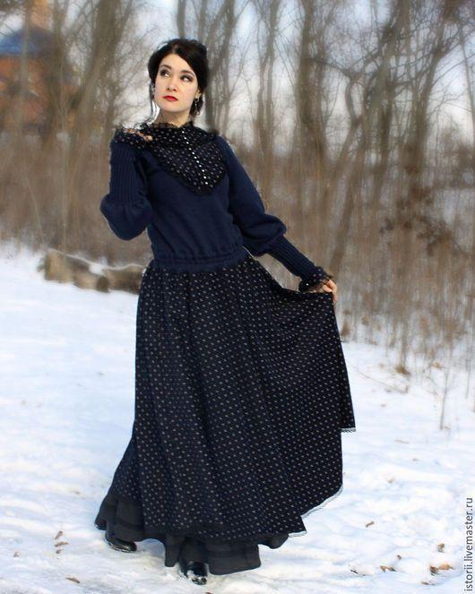 Платья ручной работы. Ретро-платье из коллекции