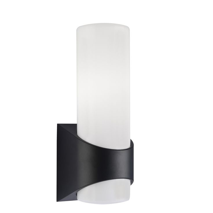 Celino Collection 1 light Outdoor Wall in Black - Kichler Lighting - pendant, ceiling, landscape light fixtures & more
