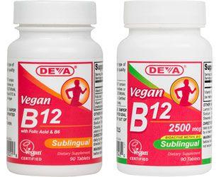 Vegan Sublingual B-12 by DEVA