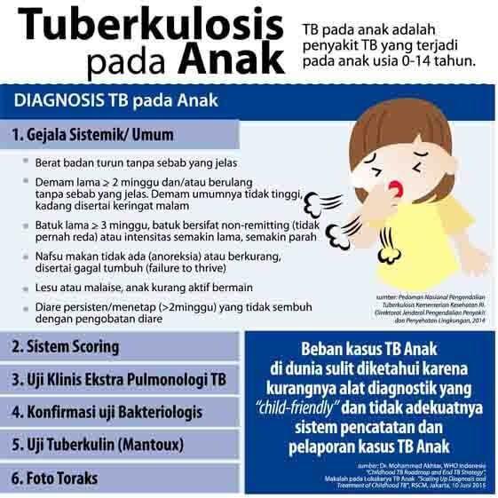 Berikut ini ada beberapa gejala umum batuk TBC pada anak, Pengobatan Penyakit Flek Pada Anak, Untuk meminimalisir penularan kuman TB pada anak, Yang perlu diperhatikan bagi para orang tua yang anaknya telah mengidap flek paru ataupun positif TB