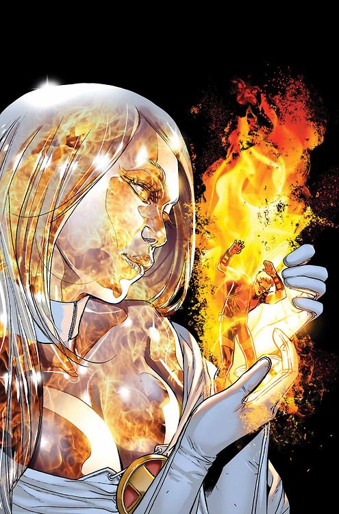 astonishingx:  Phoenix Five: White Queen by Sara Pichelli