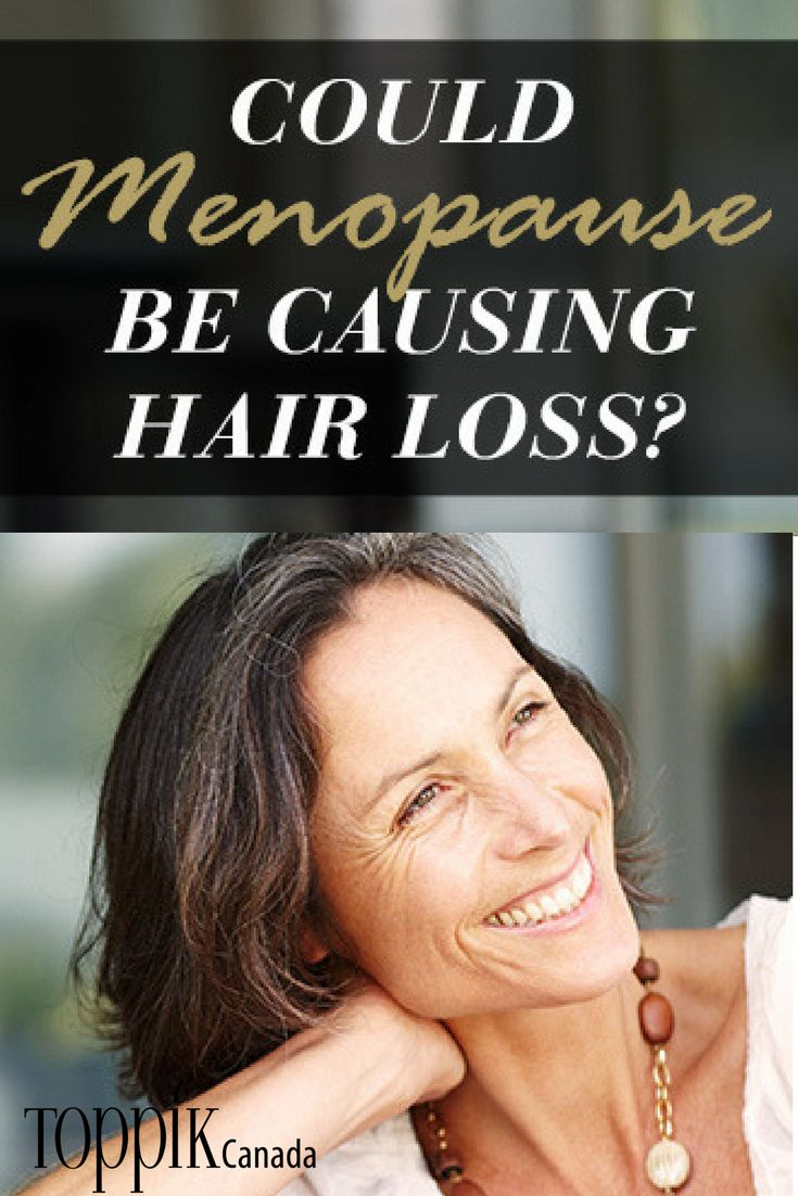 Hair loss can have devastating effects on anyone's confidence, but it is particularly devastating for women. Why does menopause cause hair loss? What can be done to treat hair loss during menopause? Follow along as we answer these questions and more. #hairlossmenopause