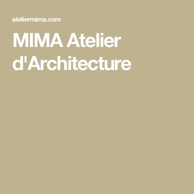 MIMA Atelier d'Architecture