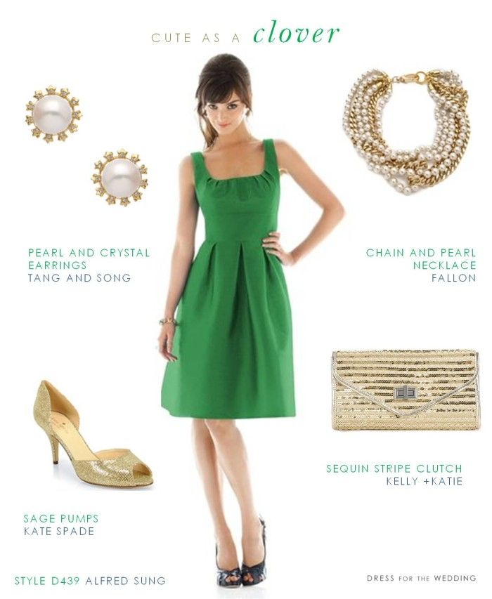 Cute Green Bridesmaid Dress. Green Dresses For WeddingDresses ...