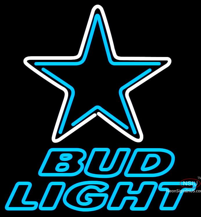 Bud Light Neon Dallas Cowboys NFL Real Neon Glass Tube Neon Sign,Affordable and durable,Made in USA,if you want to get it ,please click the visit button or go to my website,you can get everything neon from us. based in CA USA, free shipping and 1 year warranty , 24/7 service