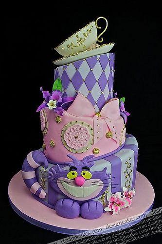 Art Alice in Wonderland birthday-theme-ideas