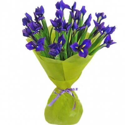 Букет синих ирисов с бесплатной доставкой в Москве http://www.dostavka-tsvetov.com/tsvet/21-iris
