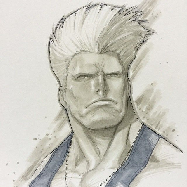 Street Fighter - Guile by Alvin Lee