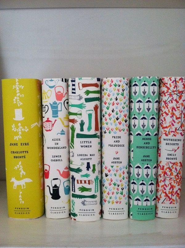 pretty books.