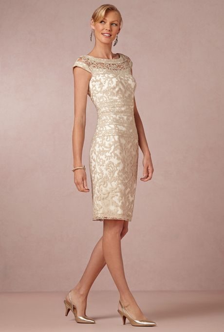 "Brides.com: 49 Mother-of-the-Bride Dresses You Can Buy Right Now . ""Kinley"" dress, $350, Tadashi Shoji available at BHLDN"