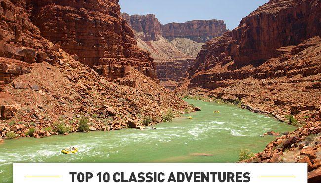 TOP 10 CLASSIC ADVENTURES