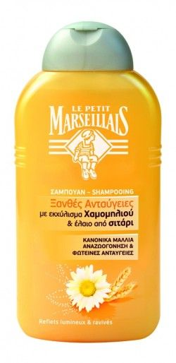 Le Petit Marseillais Σαμπουάν για ξανθές ανταύγειες