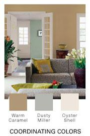 Paint Color Warm Caramel New Beginnnings Pinterest Living Room Colors House And