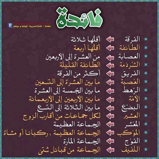 دقة اللغة العربية