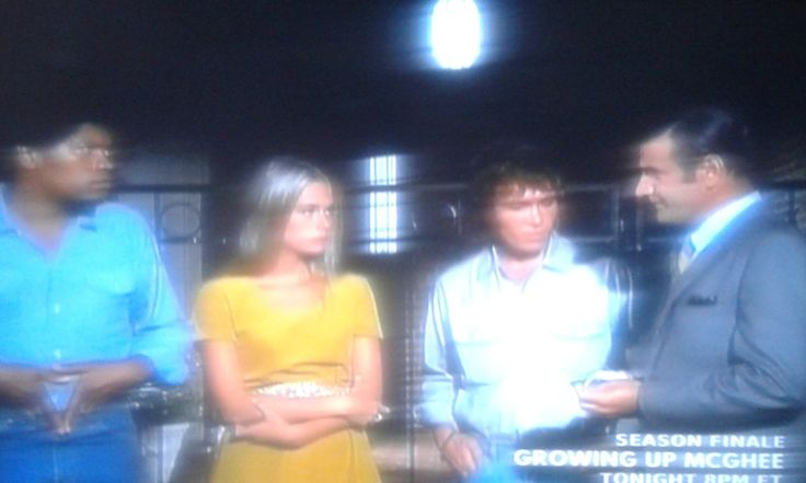Peggy Lipton, Tige Andrews, Michael Cole, and Clarence Williams III in The Mod Squad (1968)