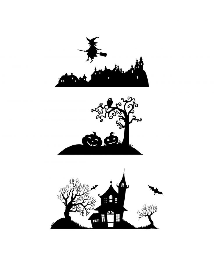 Download three Halloween silhouette designs to transfer onto your rocks! Witches, spiders and jack-o'-lanterns have come to inhabit the paintings.