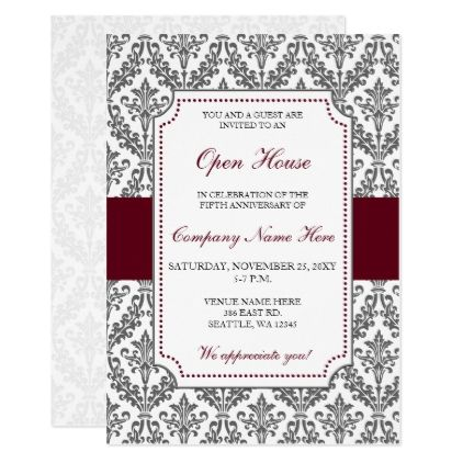 21 best Open House Invitation Wording images on Pinterest - corporate invitation text