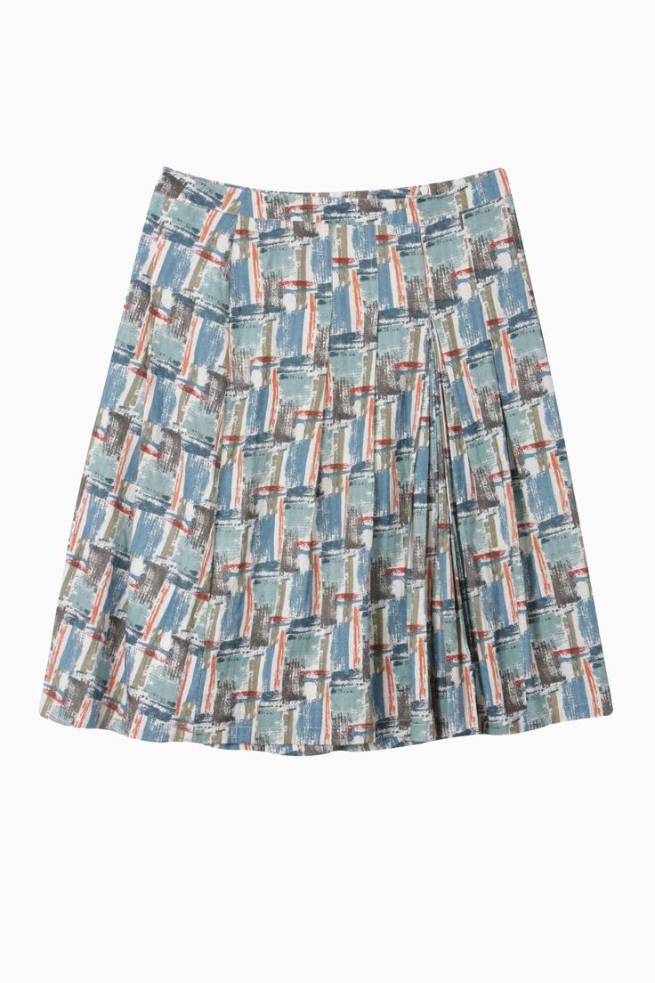 Brushstrokes Skirt
