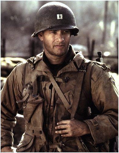 Tom Hanks as Captain John H. Miller, 2nd Ranger Battalion, US Army - Saving…