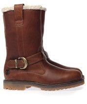 Bruine Timberland laarzen Nellie Pull On boots  #boots #mooieschoenen #timberland