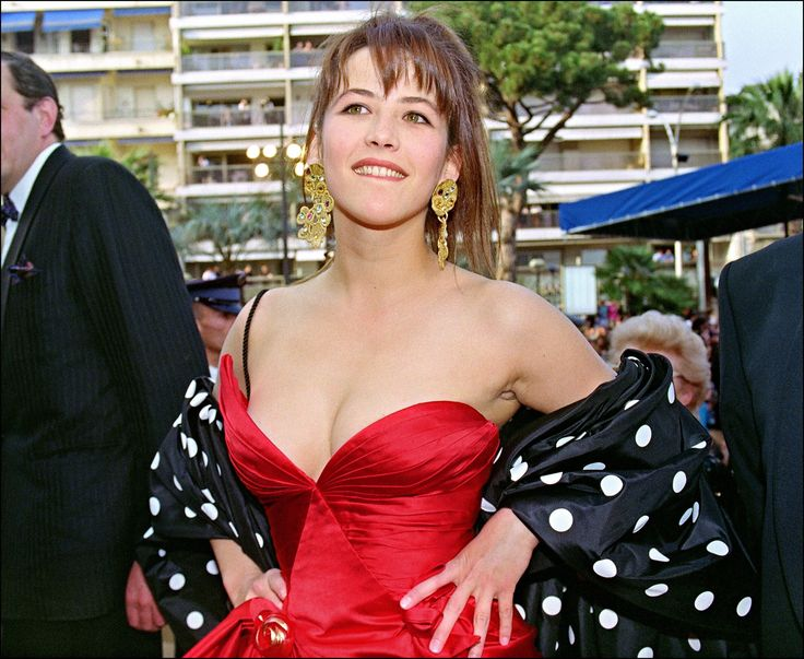Sophie Marceau Cannes Film Festival May 1992